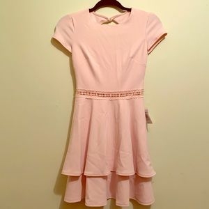 NWT B. Darlin Light Pink Dress | Size 1J